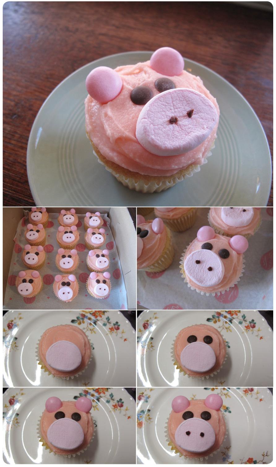 PIG-CUPCAKES