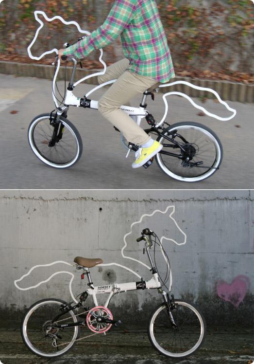 horse-bike