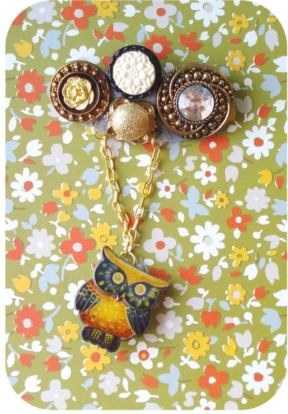 owl-brooch