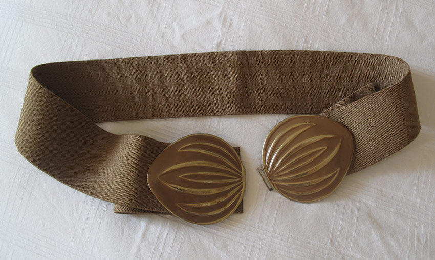 vibtage-belt-brown