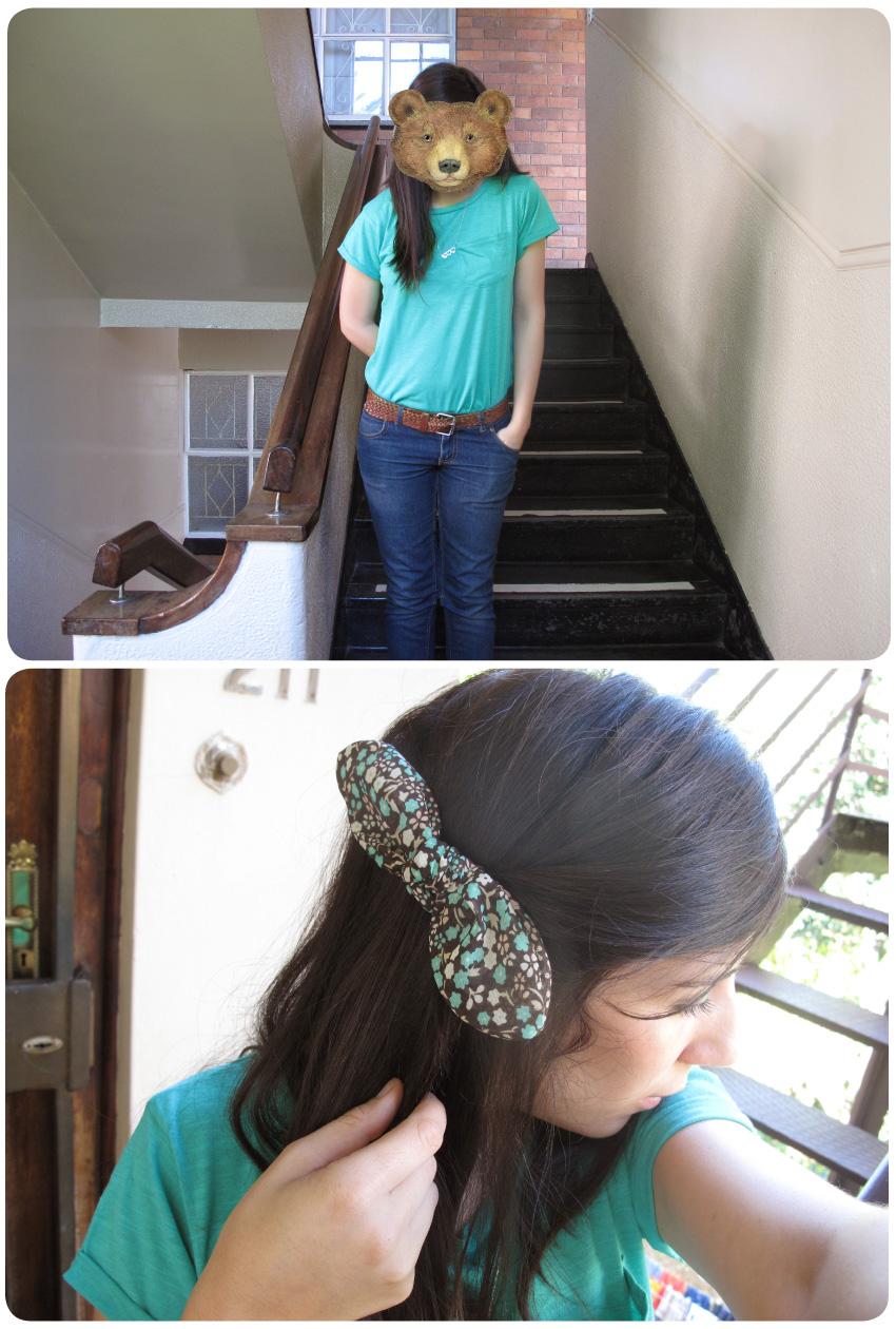 green-t-shirt