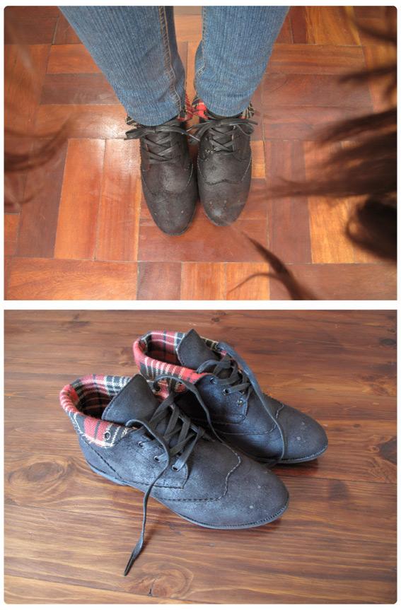 tartan-boots