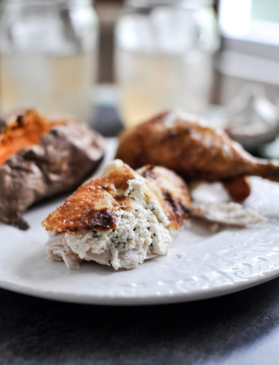 goat-cheese-roasted-chicken