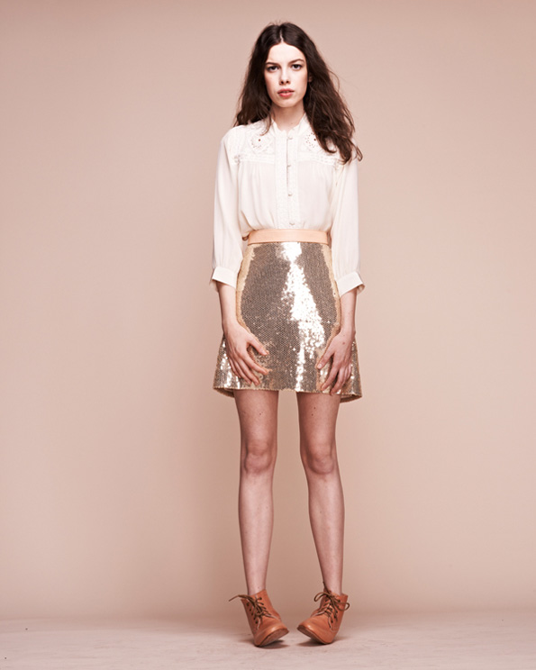 Bearsville-Western-Blouse-and-Lazy-Kate-Sequin-Skirt
