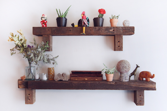 Natural-wooden-shelf