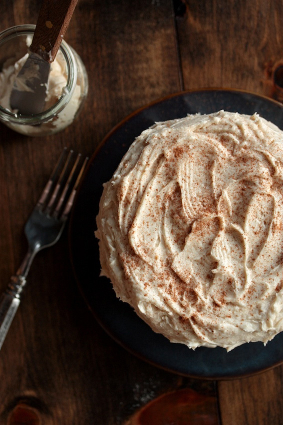 Pear-Almond-Cake-with-Cinnamon-Brown-Sugar-Buttercream