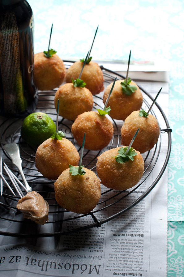 Avocado-cream-rice-balls