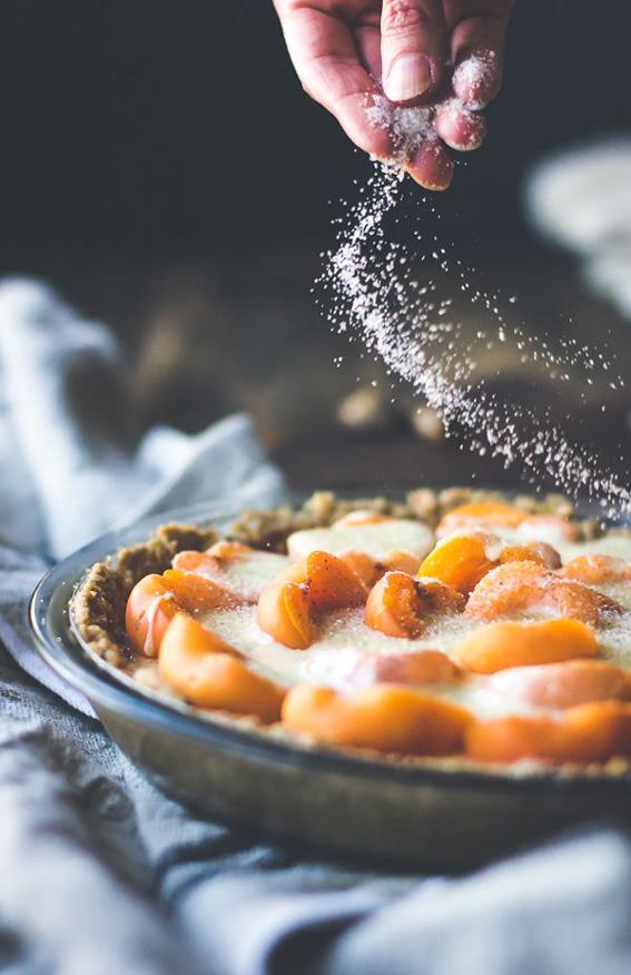 Apricot-Custard-Pie