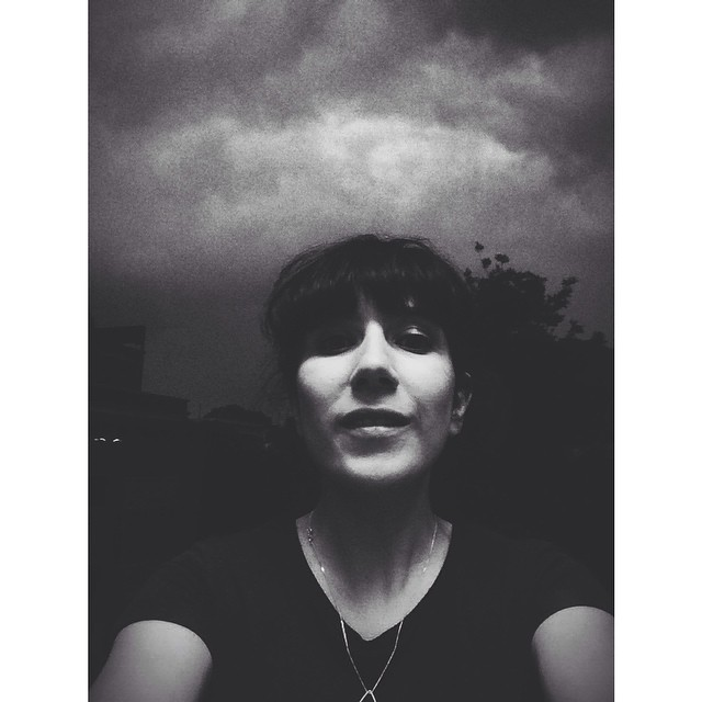 It's dark outside. It's awesome.