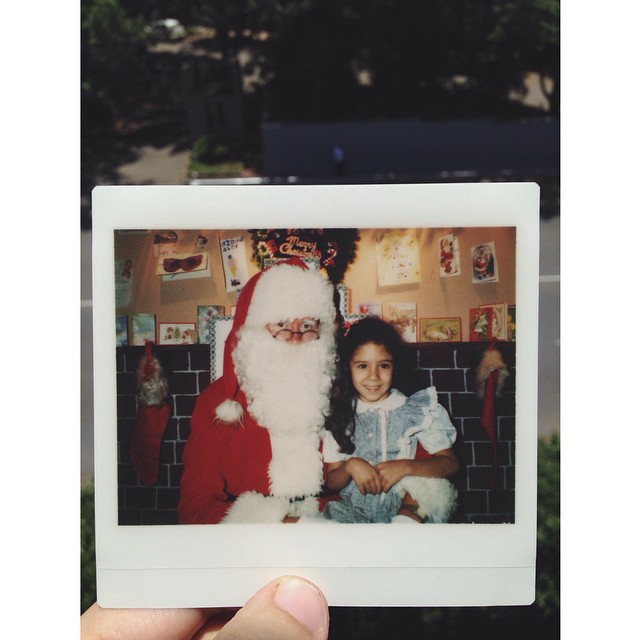 #tbt to me hanging with Father Christmas the year @shanedurrant was born hehe