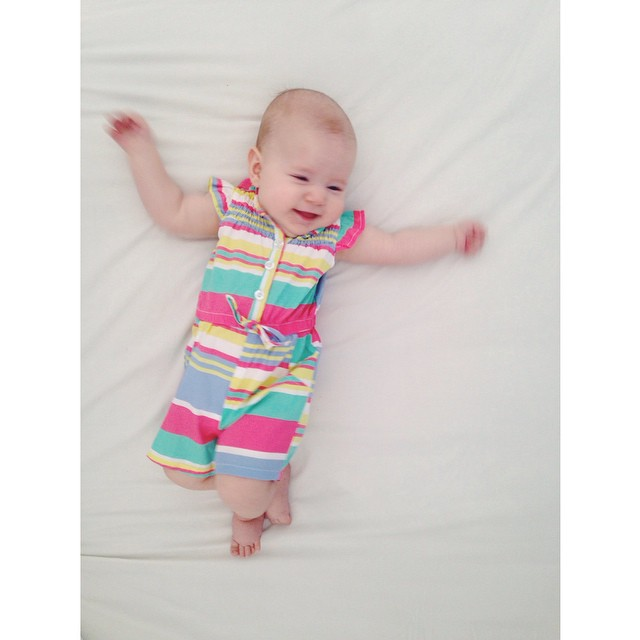 #ninajamesdurrant @ninajamesdurrant my baby likes to laugh, especially when I tell her that I'm going to eat her face. When she's old enough to actually understand what I'm really saying, I'm probably going to get a completely different reaction.