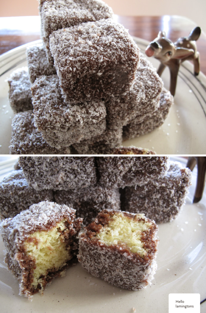 Marie's Strawberry Lamingtons Recipe - Quick and easy at countdown ...