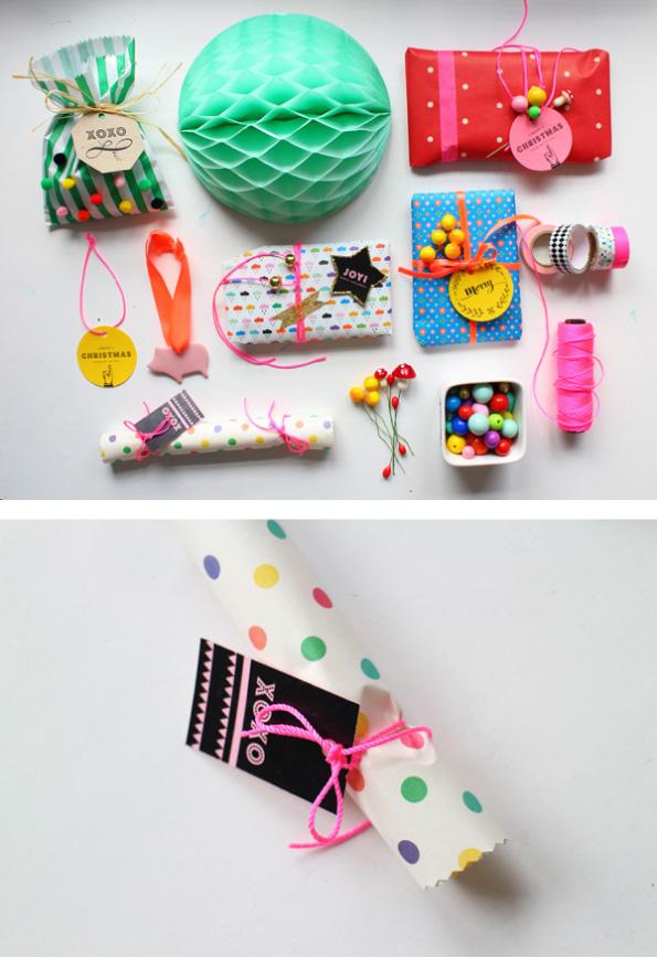 Christmas cracker gifts idea