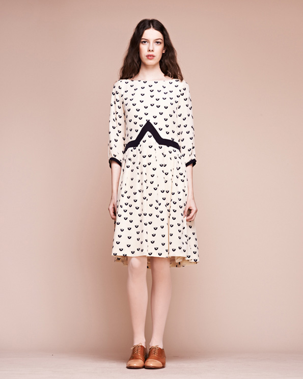 Woodstock-3-quarter-slv-dress
