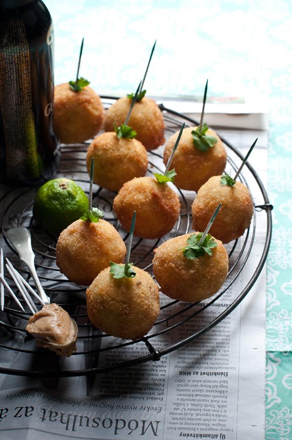 Avocado-cream-rice-balls