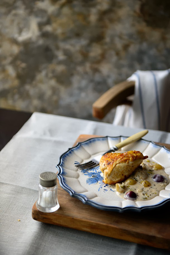 Chicken-with-grapes