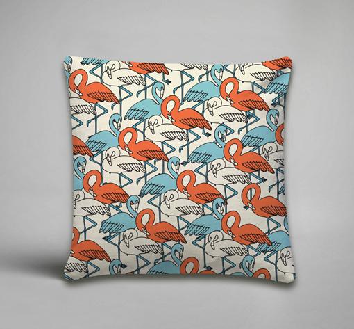 CC14-Flamingos-Orange-Blue