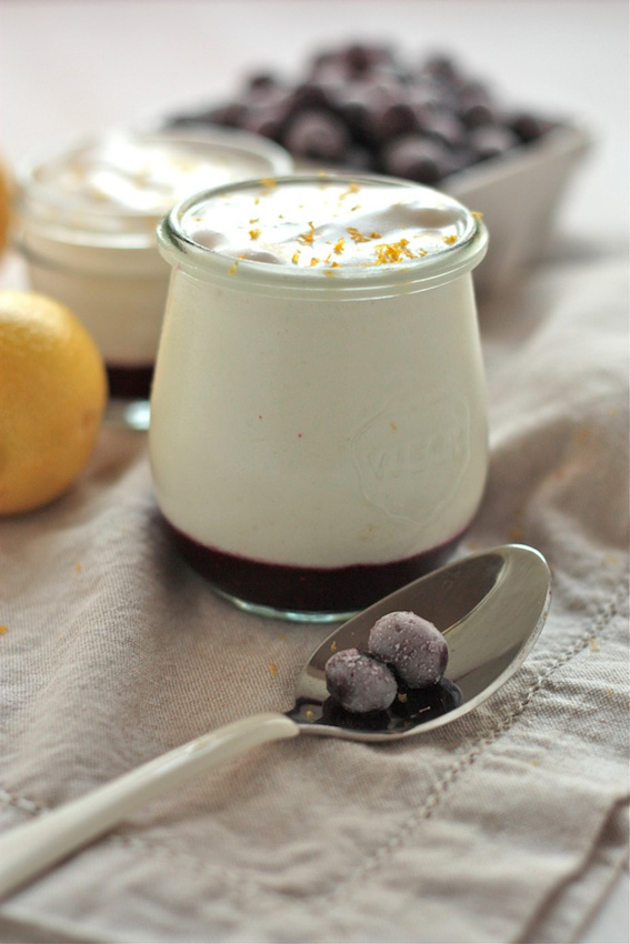 Blueberry-Lemon-Mousse