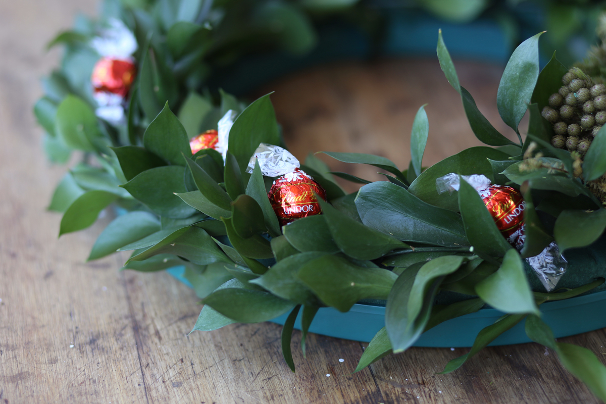 D.I.Y. Christmas wreath-9