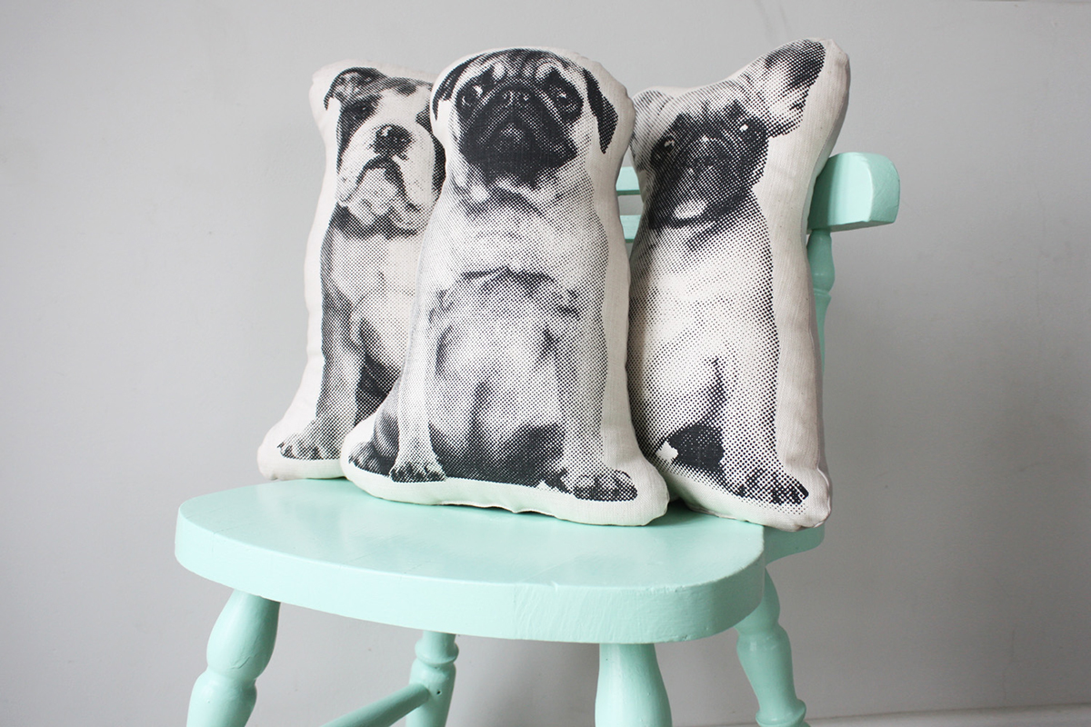 Ménagerie cushions