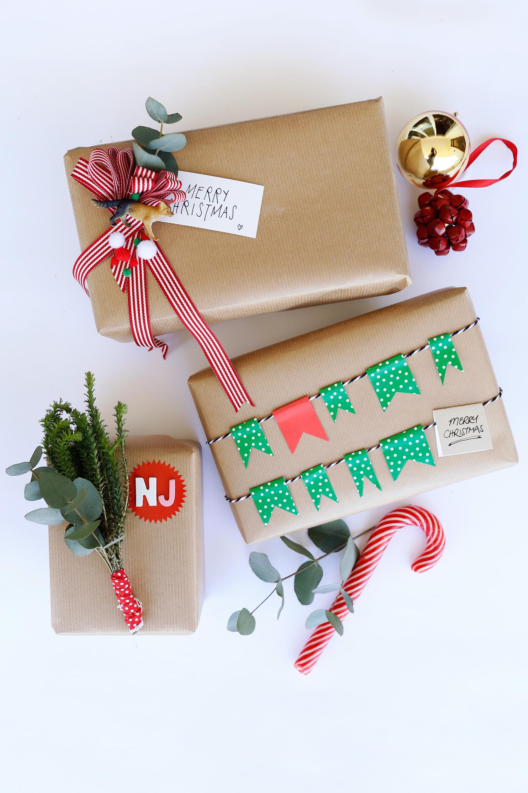DIY Festive Season wrapping