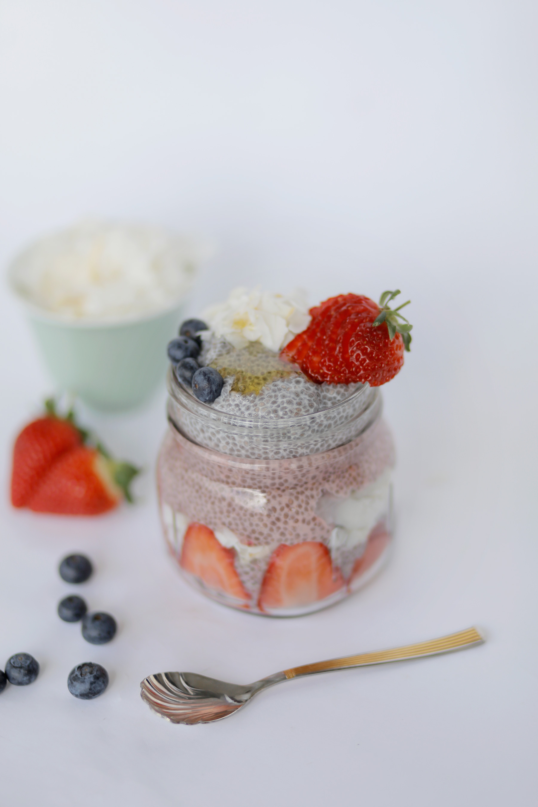 Almond Berry Chia Pudding-5