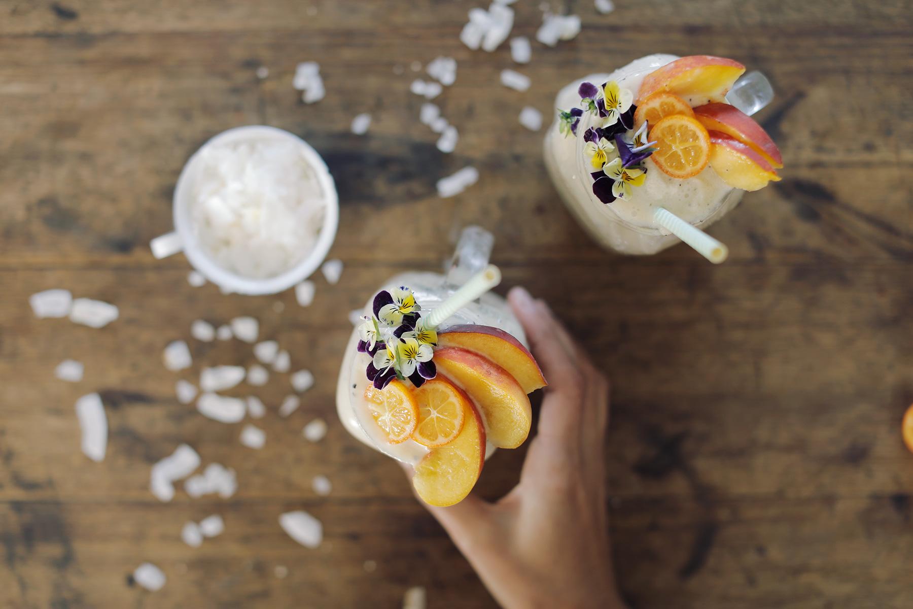Coconut-Granadilla-and-Banana-smoothie-2