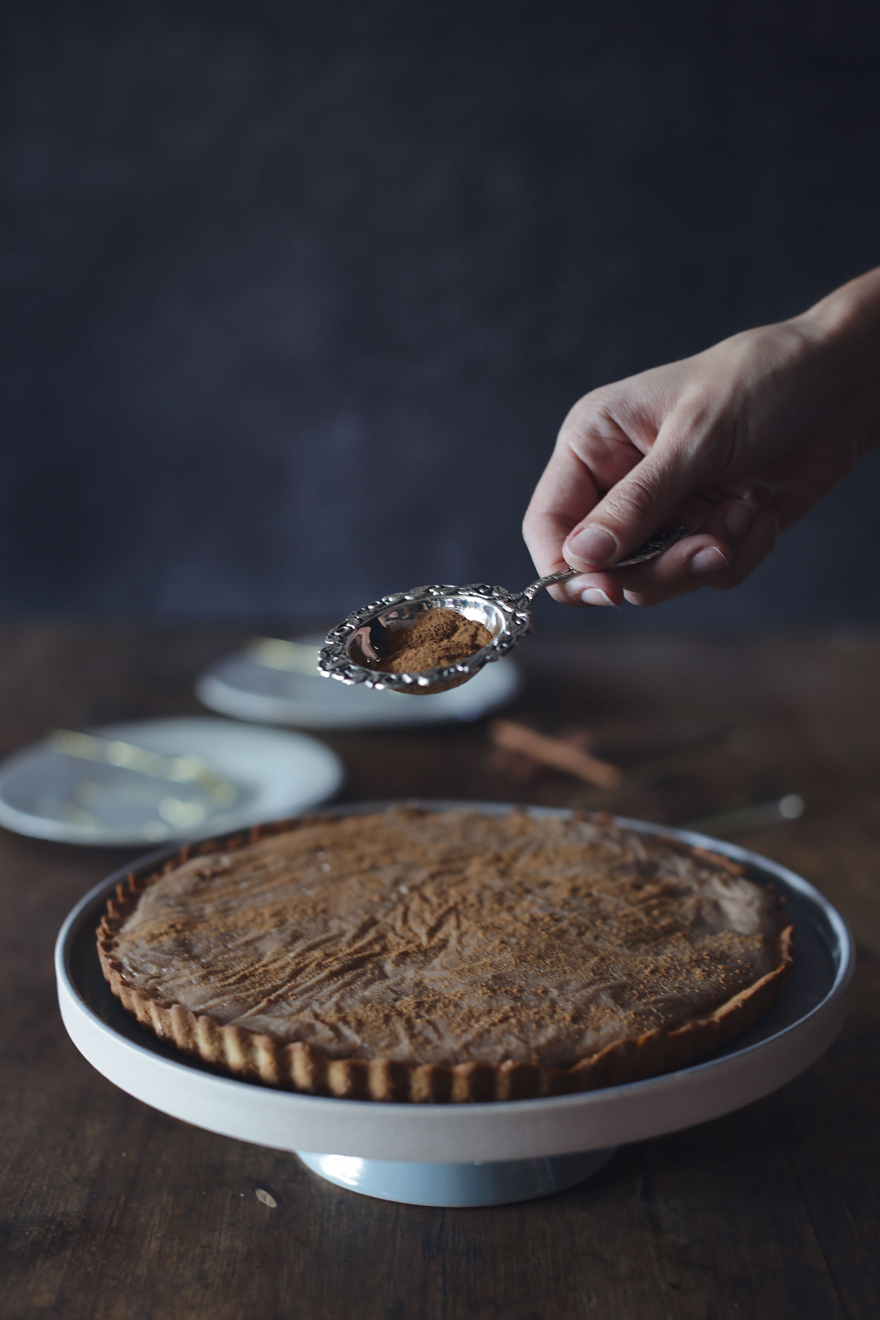 VEGAN-MILK TART