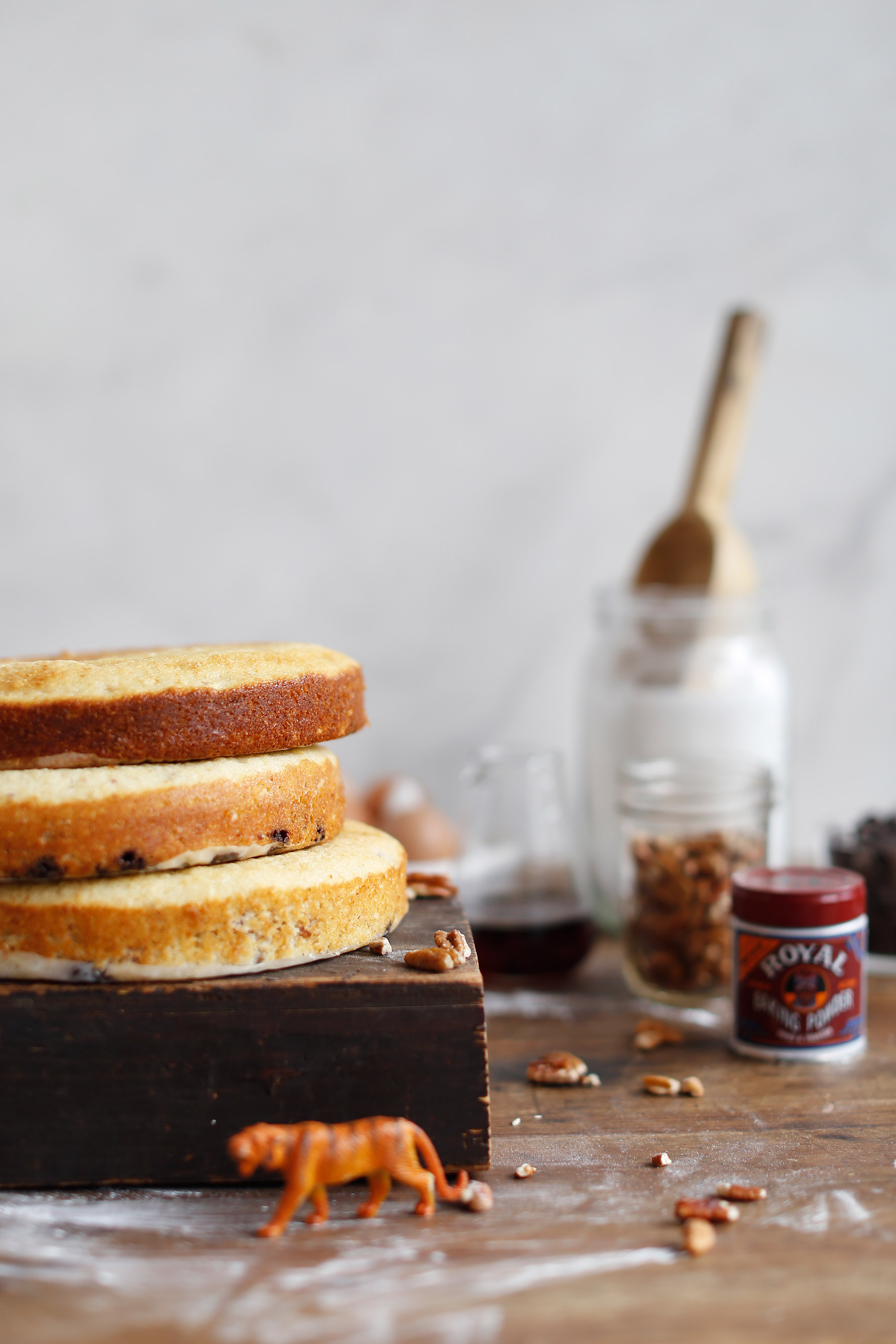 Pecan-Nut,-Chocolate-and-Maple-Syrup-Layer-Cake-6