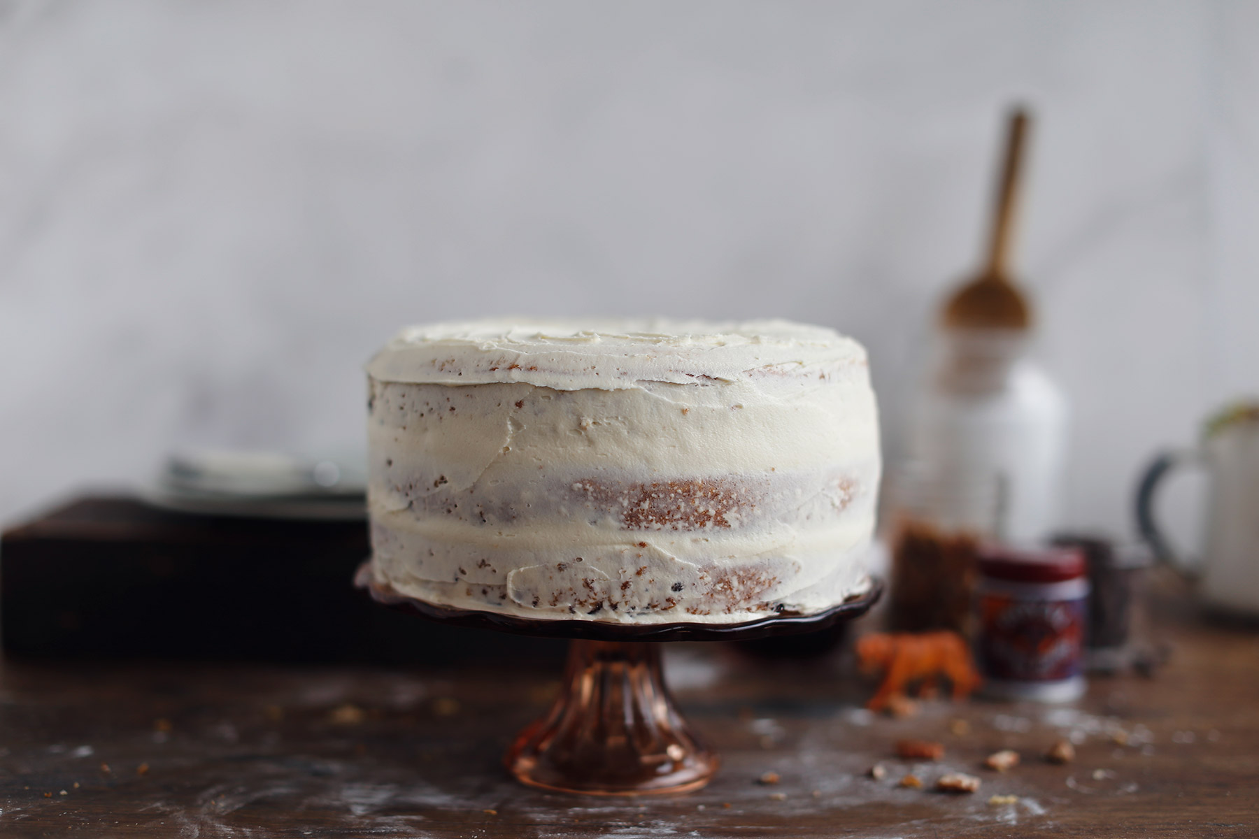 Pecan-Nut,-Chocolate-and-Maple-Syrup-Layer-Cake-8