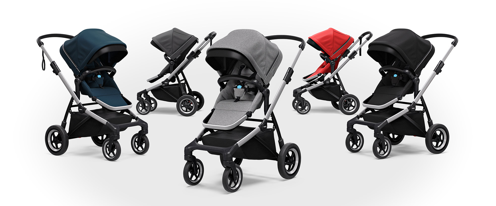 Thule Sleek stroller color range