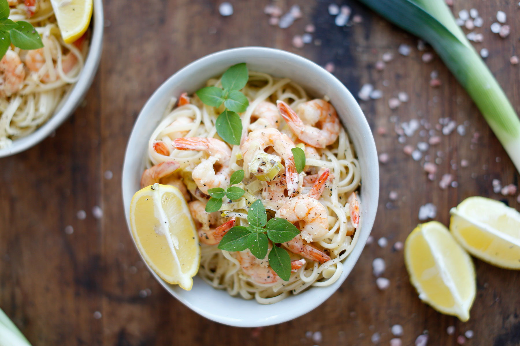 Lemon-Cream,-Prawn-and-Leek-Pasta-4