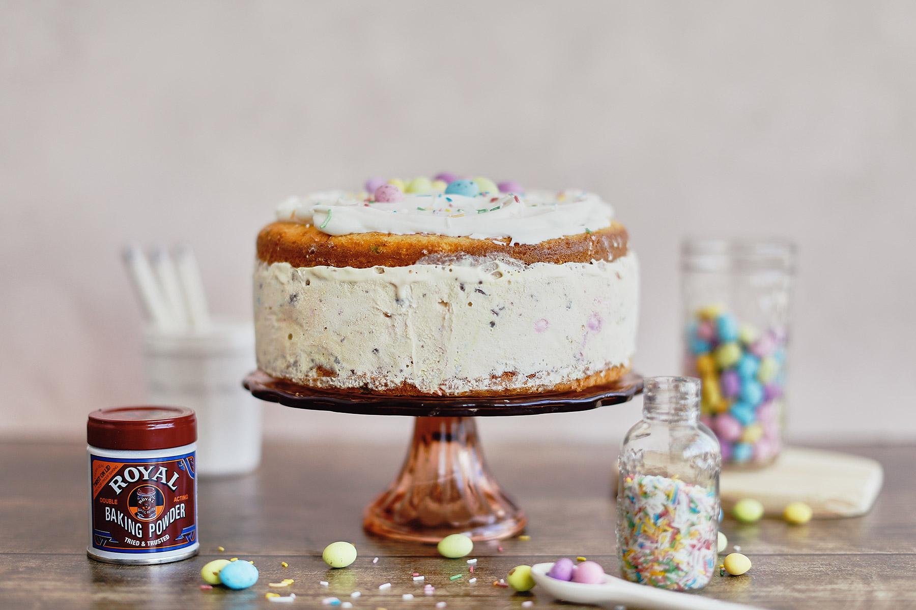 FUNFETTI-SPECKLED-EGG-ICE-CREAM-CAKE-4